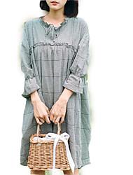 cheap -women's going out a line dress knee-length