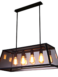 Недорогие -4-Light Люстры и лампы Потолочный светильник 110-120Вольт / 220-240Вольт Лампочки не включены