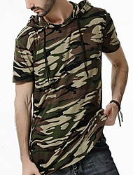 Недорогие -Муж. Футболка Армия камуфляж