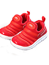 cheap -Boys' / Girls' Shoes Mesh Spring &  Fall Comfort Sneakers Basketball Shoes for Kids Black / Red / Pink
