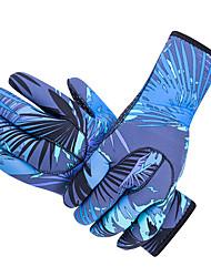 Недорогие -SBART Дайвинг Перчатки 3mm Нейлон / неопрен Полный палец Сохраняет тепло, Нескользящий, Защитный Дайвинг / Для погружения с трубкой