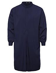 Недорогие -Муж. Рубашка Богемный Однотонный