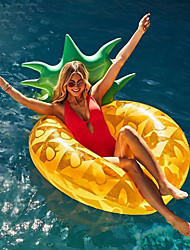 cheap -Pineapple Inflatable Pool Floats PVC Durable, Inflatable Swimming / Water Sports for Adults 180*80 cm