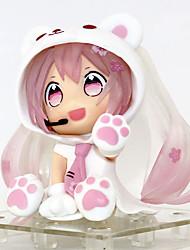 abordables -Figures Animé Action Inspiré par Vocaloid Snow Miku PVC 6.5 cm CM Jouets modèle Jouets DIY