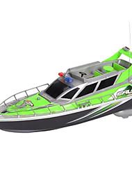 Недорогие -Лодка на радиоуправлении HT-2875F Пластик каналы 3 km/h КМ / Ч