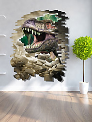 abordables -Autocollants muraux décoratifs / Autocollants de frigo - Autocollants avion / Autocollants muraux 3D Paysage / 3D Chambre à coucher / Intérieur