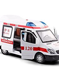 Недорогие -Игрушечные машинки Полицейская машинка / Машина скорой помощи Транспорт Вид на город / Cool / утонченный Металл Все Детские / Для подростков Подарок 1 pcs