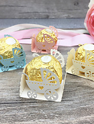cheap -Favor Boxes Pearl Paper 50 pcs Baby Shower