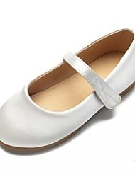 f3e8e3354cfc ADOR® Girls' Shoes Satin Spring & Summer Ballerina / Flower Girl Shoes Flats  Rhinestone / Bowknot / Buckle for Kids White / Ivory / Wedding
