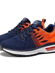 Недорогие -Муж. Сетка / Эластичная ткань Осень Удобная обувь Спортивная обувь Беговая обувь Контрастных цветов Темно-синий / Черный / Красный
