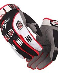 Недорогие -про-байкер унисекс мотоцикл мотокросс перчатки воздухопроницаемые мотокросс перчатки