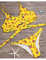 economico -Per donna Bikini - Con stampe, A pois Tanga