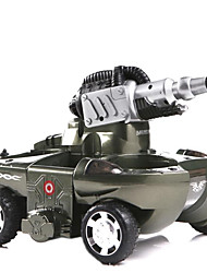 baratos -Carro com CR 24883A 4CH 2.4G Tanque 10 km/h KM / H