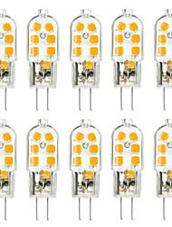 abordables -ywxlight® 10pcs g4 3w 200-300lm 12led lumières bi-broches led 2835smd blanc chaud blanc froid blanc naturel led ampoule de maïs lustre lampe ac 12v
