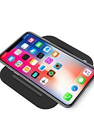 Недорогие -10w складной qi мобильный телефон беспроводной зарядки зарядное устройство для iphone xs iphone xr xsmax iphone 8 samsung s9 plus s8 примечание 9 или встроенный qi приемник смартфон