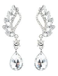 economico -Per donna Lungo Orecchini a goccia - Diamanti d'imitazione goccia Alla moda, Classico Rosso / Verde Chiaro / Royal Blue Per Quotidiano / Cerimonia
