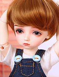 cheap -OuenElfs Ball-joined Doll / BJD / Blythe Doll Baby Boy 10 inch Full Body Silicone - High-Temperature Resistant Fibre Wigs Kid's Boys' Gift