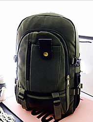 cheap -Unisex Bags Canvas Backpack Zipper Almond / Army Green / Khaki