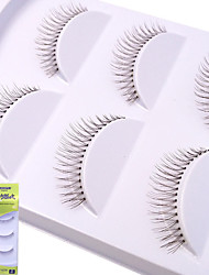 cheap -lash False Eyelashes Thickening Makeup 1 pcs Eye High Quality / Fashion Event / Party / Daily Wear Daily Makeup / Halloween Makeup / Party Makeup Natural Curly Cosmetic Grooming Supplies