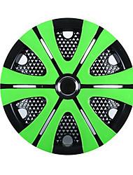 Недорогие -1 шт. Крышка ступицы 15 inch Деловые пластик Колпаки на колеса Назначение Универсальный Все года