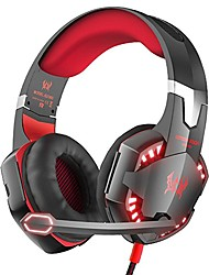 Недорогие -KOTION EACH G2000 Головная повязка Проводное Наушники наушник ABS + PC Игры наушник С микрофоном / С регулятором громкости наушники