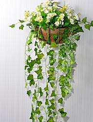 baratos -Flores artificiais 1 Ramo Clássico Moderno / Contemporâneo / Estilo simples Flores eternas Guirlandas & Flor de Parede