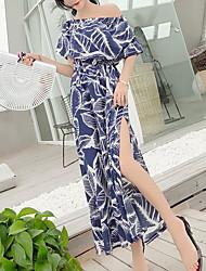 preiswerte -Damen Grundlegend A-Linie Kleid Maxi