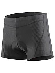 Недорогие -Arsuxeo Все Велотрусы Велоспорт Шорты 3D-панель Классика Полиэстер, Спандекс Черный / Темно-серый Горные велосипеды Плотное облегание Одежда для велоспорта Профессиональная технология выполнения швов