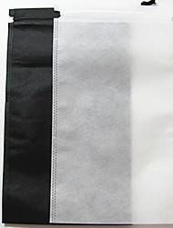 baratos -Tecido / PVC Retângular Teste padrão geométrico Casa Organização, 1pç Sacos de Sapatos