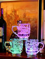 abordables -Drinkware Verres & Tasses : Nouveautés Plastique Sensible à la chaleur couleur changeante Fête / Soirée / Anniversaire