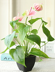 cheap -Artificial Flowers 1 Branch Classic Stylish Calla Lily Tabletop Flower