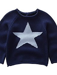 cheap -Toddler Boys' Basic Geometric Print Long Sleeve Cotton Sweater & Cardigan