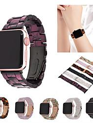 Недорогие -Ремешок для часов для Серия Apple Watch 5/4/3/2/1 Apple Бабочка Пряжка Керамика Повязка на запястье
