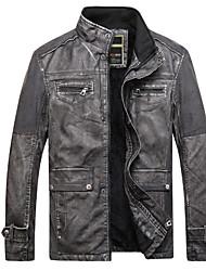cheap -Men's Military Jacket - Contemporary