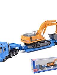 Недорогие -Строительная техника Игрушечные грузовики и строительная техника 1:87 Новый дизайн Металлический сплав 1 pcs Дети Игрушки Подарок