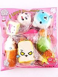 Недорогие -LT.Squishies Резиновые игрушки / Устройства для снятия стресса Продукты питания Декомпрессионные игрушки 10 pcs Взрослые Подарок
