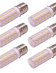 Недорогие -4w g9 привело кукурузный свет 54 светодиода 4014 smd ac 100 - 240v без мерцания для настенного освещения домашнего освещения холодный / теплый белый (6 шт)