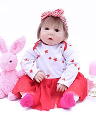 cheap -OtardDolls Reborn Doll Baby Girl 16 inch lifelike, Tipped and Sealed Nails, Artificial Implantation Brown Eyes Kid's Girls' Gift