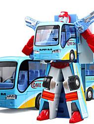 Недорогие -Игрушечные машинки Автобус Транспорт Автобус Вид на город Cool утонченный Металл Для подростков Все Мальчики Девочки Игрушки Подарок 1 pcs
