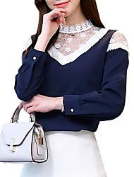cheap -women's blouse - geometric stand