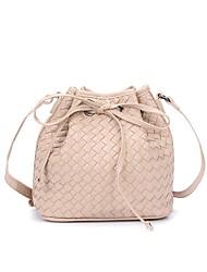 cheap -Women's Bags PU(Polyurethane) Shoulder Bag Zipper Blushing Pink / Navy Blue / Light Grey