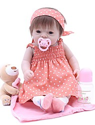 cheap -OtardDolls Reborn Doll Baby Girl 20 inch lifelike, Tipped and Sealed Nails, Artificial Implantation Brown Eyes Kid's Girls' Gift