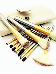 abordables -12pcs Pinceles de maquillaje Profesional Sistemas de cepillo Pincel de Fibra Artificial / Pincel de Nylon Ecológica / Profesional / Suave Madera / Bambú