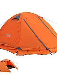 cheap -FLYTOP 2 person Backpacking Tent Double Layered Poled Camping Tent Outdoor Lightweight, Rain-Proof, Windproof for Camping / Hiking / Caving >3000 mm Polyster 210*270*115 cm