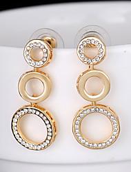 cheap -Women's Stylish Stud Earrings - Creative Stylish, Unique Design, European Gold For Wedding / Birthday / Engagement