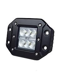 cheap -Lights Maker 1 Piece Car Light Bulbs 18 W SMD 3030 6 LED Fog Light For universal All years