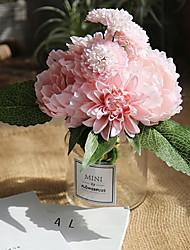 Недорогие -Искусственные Цветы 0 Филиал Классический Стиль Ваза Букеты на стол