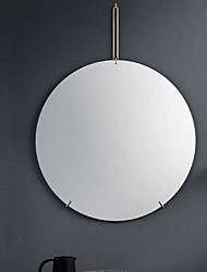 Недорогие -Зеркало Зеркальная поверхность Современный Металлические 1шт - Зеркальная поверхность Украшение ванной комнаты