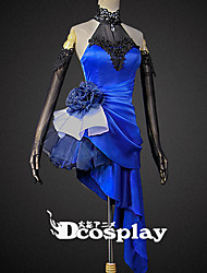 abordables -Inspirado por Destino / Grand Order Saber Lily Animé Disfraces de cosplay Trajes Cosplay Anime / Cristal / Strass / Encaje Para la Cabeza / Brazalete / Pulsera / Disfraz Para Mujer