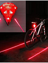 cheap -Rear Bike Light / Tail Light LED Bike Light Cycling Waterproof, Portable, Wearproof Li-ion 20 lm Rechargeable Power Red Camping / Hiking / Caving / Cycling / Bike
